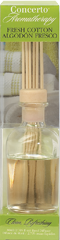 Concerto Aromatherapy - Fresh Cotton Reed Diffuser Oil Set