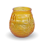 Amber Patio Candle - Unscented