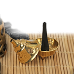 Brass Cone Incense Burner