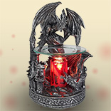 Electric Black Dragon Oil Warmer