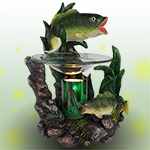 Largemouth Bass Electric Oil Warmer