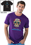 Day of the Dead - T-Shirt- Purple