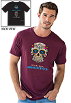 Day of the Dead - T-Shirt- Maroon