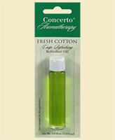 Concerto Aromatherapy - Fresh Cotton Refresher Oil