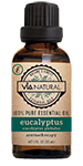 Via Natural®- 100% Essential Oil- Eucalyptus