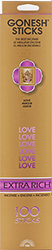 Extra Rich Collection - Love Incense 100-pack