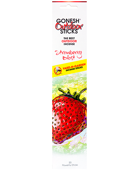 Summer - Gonesh Outdoor™ - Strawberry Blast Incense